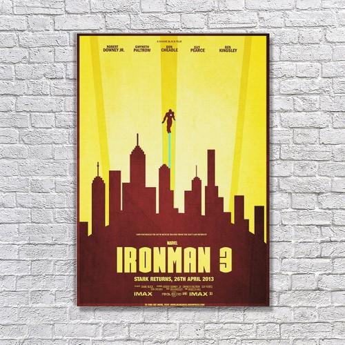 Albitablo Poster Ironman3 Kanvas Tablo