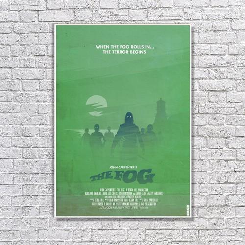 Albitablo Poster the Fog Kanvas Tablo