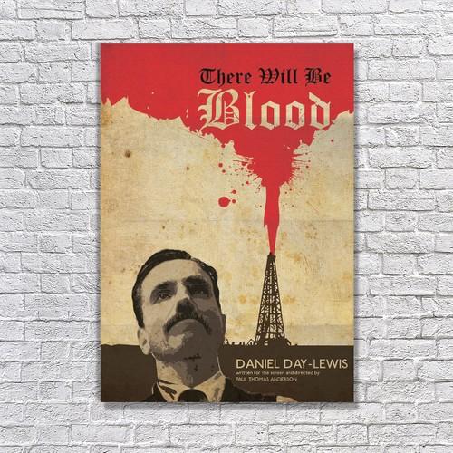 Albitablo Poster Love There Will Be Blood Kanvas Tablo