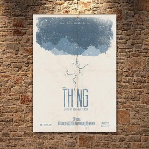 Albitablo Poster Love The Thing Kanvas Tablo