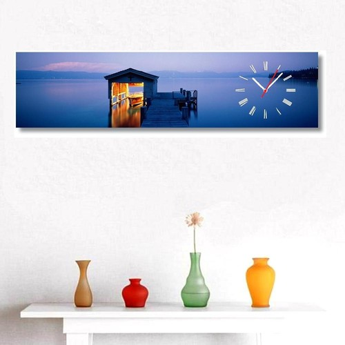 Tictac Design Kanvas Tablo Saat - İskele3