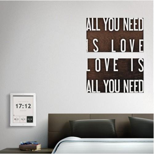 Tictac Design 2 Parça Tablo - All You Need Is Love 1