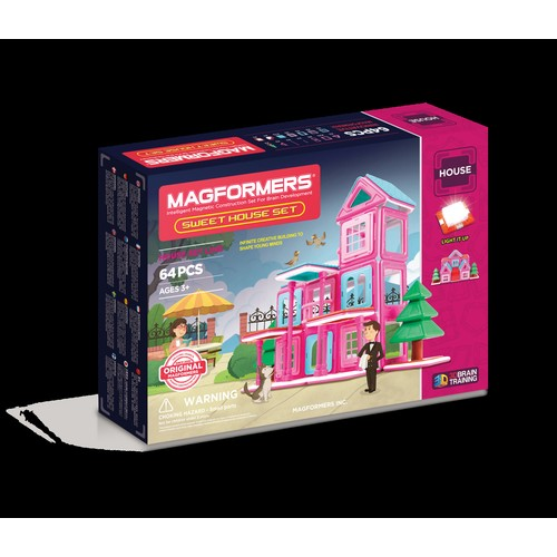 Magformers Sweet House Set 64P