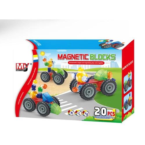 Magical Magnet Magnetic Blocks 20 Parça