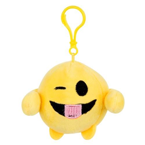 Emoji Plush Anahtarlık Dil Çıkaran 7 cm