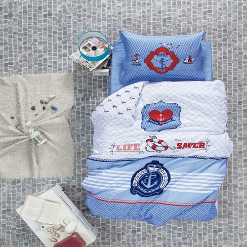 Luoca Patisca Ocean Life Tek Kişilik Complete Set