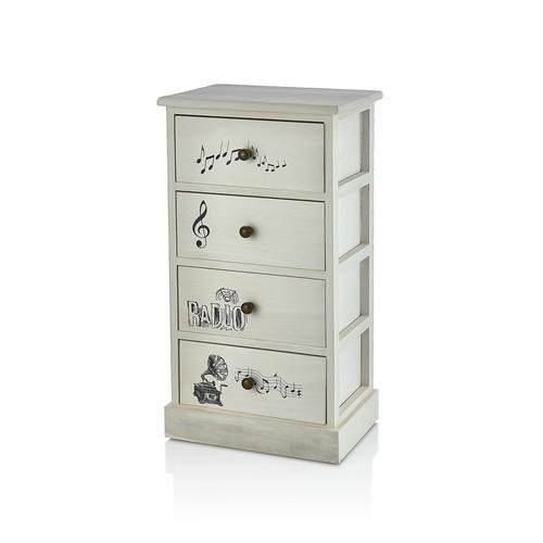 NEVA N866 Modern 4Lü Cabinet