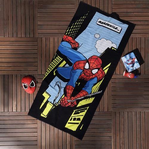 Taç Lisanslı Plaj Havlusu - Spiderman Comics