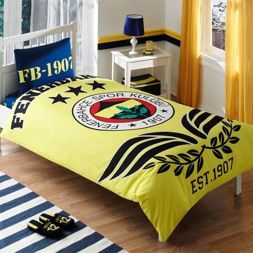 Taç - Lisanslı Fenerbahçe Parlayan Logo Nevresim Takımı