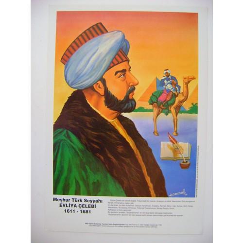 Evliya Çelebi Poster 35*50Cm