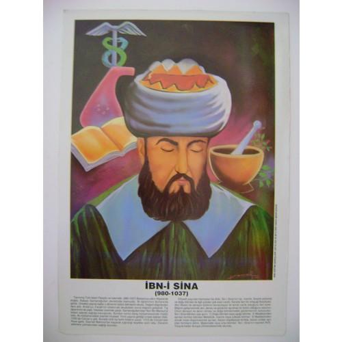 İbn-İ Sina Poster 35*50Cm