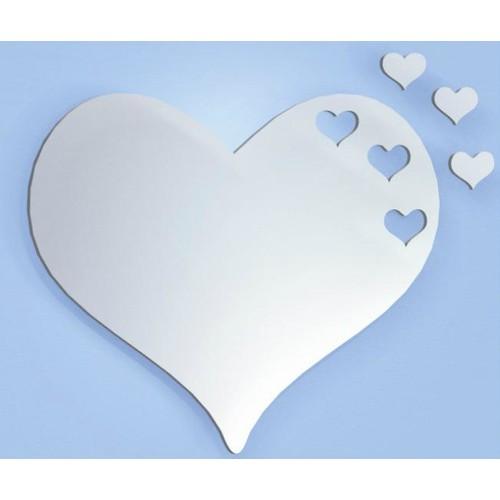 M3 Decorium Hearts Dekoratif Kalp Ayna