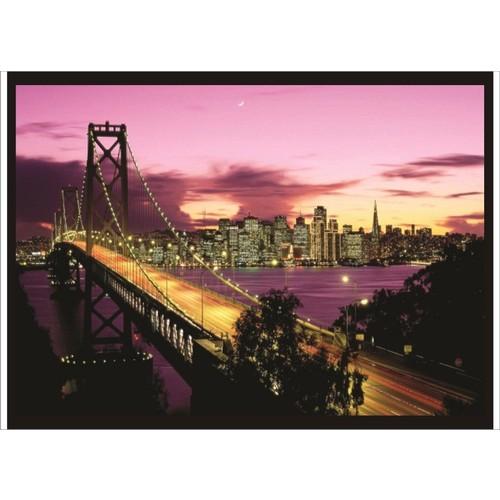 M3 Decorium Golden Gate Gece Poster
