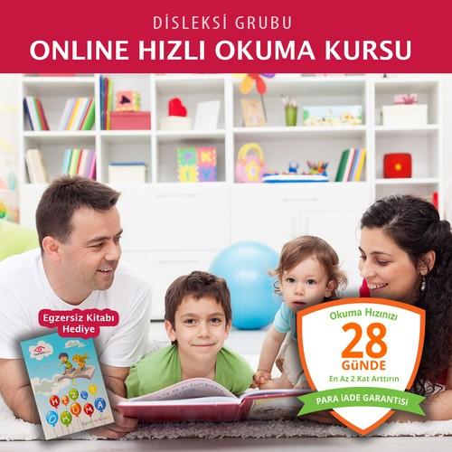 Online Hızlı Okuma Kursu (Disleksi Grubu)
