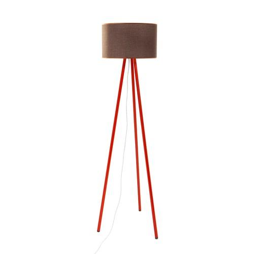 Decortie Tom Lambader - Kırmızı Gövde-Kahve Silindir Şapka