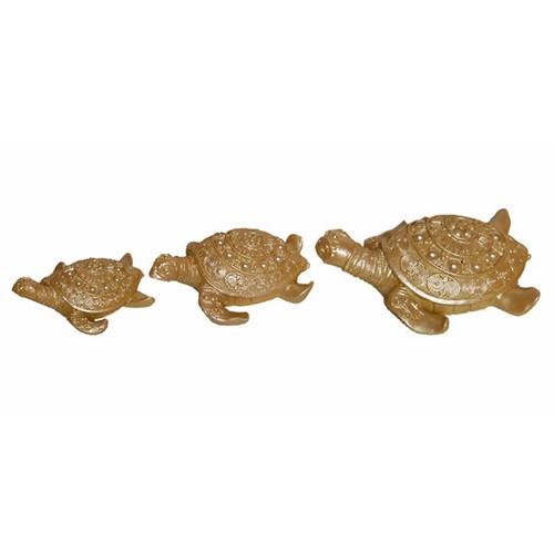 Atadan Dekoratif 3 lü Kaplumbağa Süs-Sedef