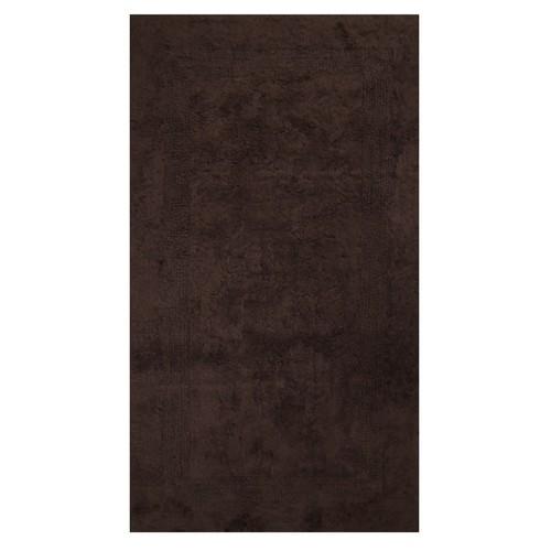 Era Club 70x120 cm Amerikan Banyo Halısı-Kahverengi