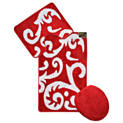 Era Lüx Multi 3'lü Kırmızı 60x100 cmKırmızı