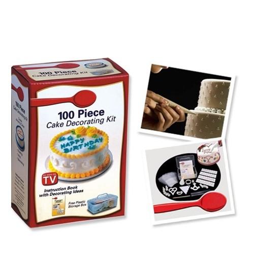 Pratik Şeyler 100 Parça Pasta Dekorasyon Seti