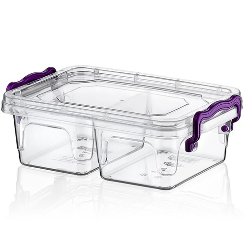 Hobby Life Plastik 500Ml Bölmeli Mülti Box Saklama Kabı 6'lı