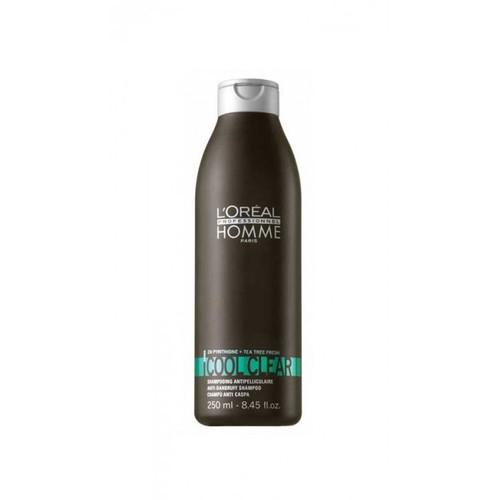 Loreal Paris Homme Cool Clear Erkeklere Özel Kepek Önleyici Şampuan 250Ml