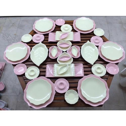 Keramika 40 Parça 6 Kişilik Romeo Kahvaltı Takımı