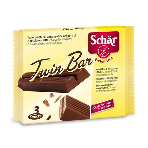 Twin Bar 64,5 Gr - Glutensiz Çiftli Çikolata Bar