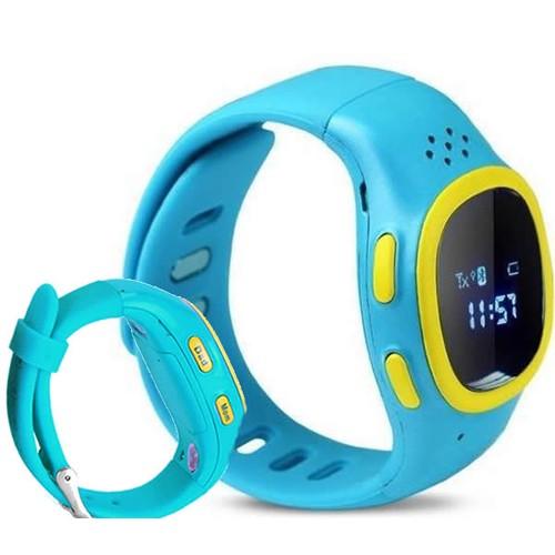 Startech Wkiddy Watch GSM,GPS,Bluetooth Akıllı Çocuk Güvenlik Saati mavi