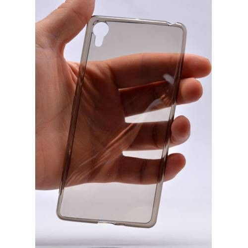 Kılıfshop Sony Xperia E5 0,2mm Silikon Kılıf+Kırılmaz Cam