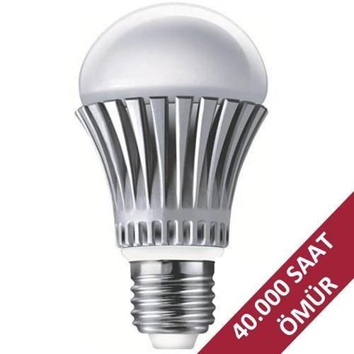 Hizmark 4.8 Watt E27 Duylu LED Ampul Sarı Işık (Sıcak Beyaz)