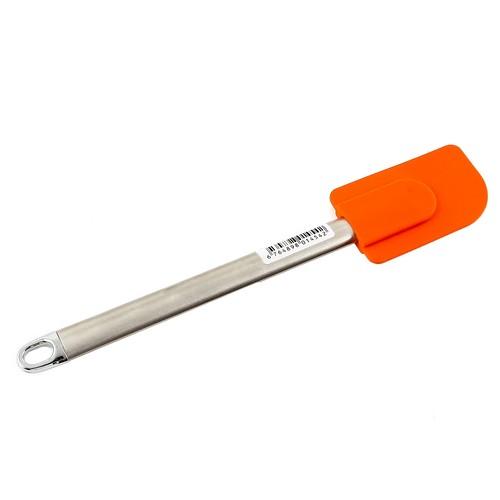 Gondol Metal Saplı Silikon Spatula Oranj