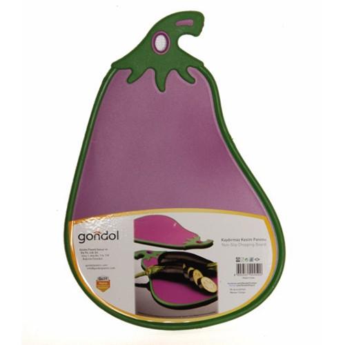 Gondol Patlıcan Kaydırmaz Kesim Panosu G458