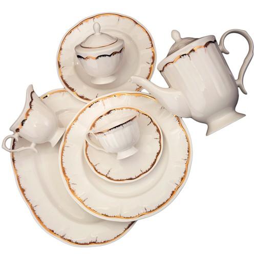 Cemile Victoria Gold 6 lı Kahve Fincanı