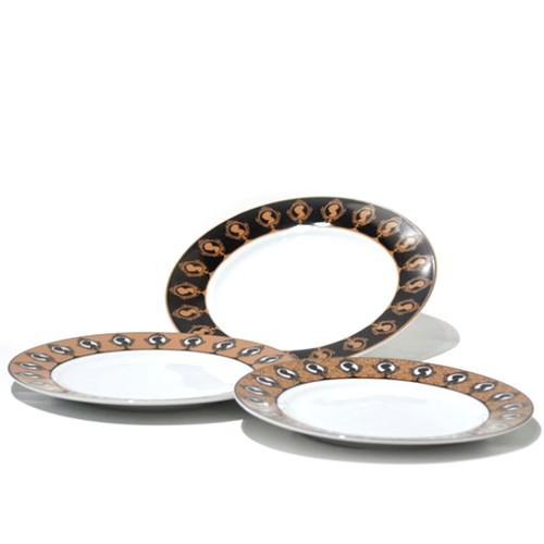 Dodo Antıques 6 Lı Pasta Tabağı Seti Ayna
