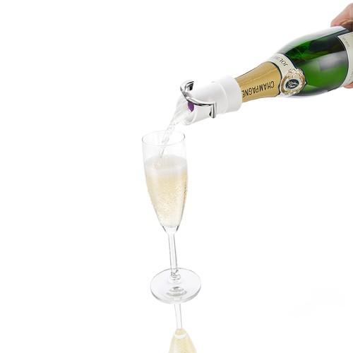 Vacu Vin Şampanya Servis Aparatı Beyaz