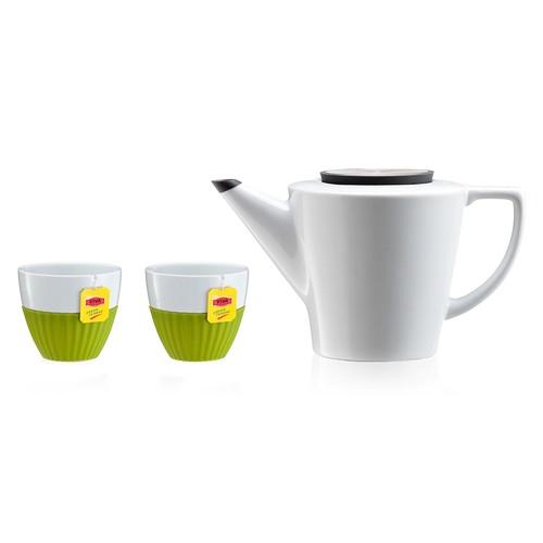 Vacu Vin Anytıme Demlikli Çay Seti Yeşil