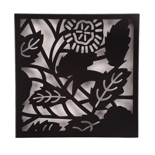 Chic Metal Desenli Pano - Siyah