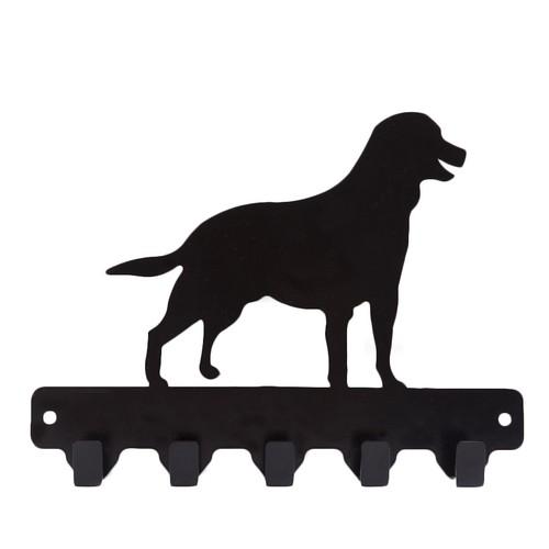Chic Metal Köpek 4 lü Askı - Siyah