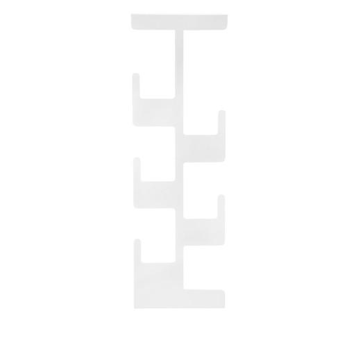 Chic Metal Dikey Uzun Askı 5 li -Beyaz