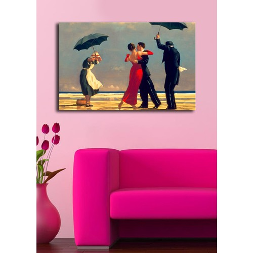 Mania The Singing Butler Kanvas Tablo 45x70 cm