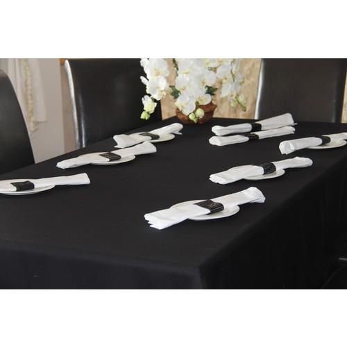 Yeni Yün Christoff Masa Örtüsü,Peçete,Peçetelik Set-Noble - 260x150 cm