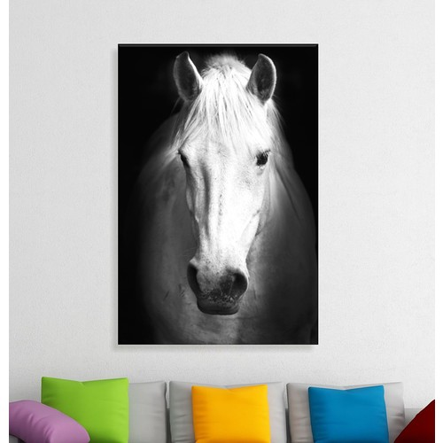 Artcanvas Think Positive Dekoratif Kanvas Tablo -50x70 cm