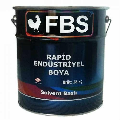 Fbs Rapid Endüstriyel Boya 3 Kg Parlak Siyah