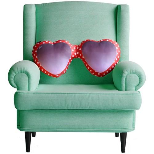 Gibi Design Kalpli Gözlük Yastık