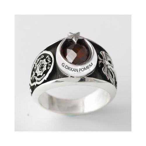 Anıyüzük A. Gaffar Okkan Pomem Yüzüğü