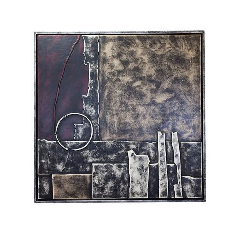 Arte El Yapımı Kabartmalı Deri Tablo 46