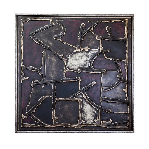 Arte El Yapımı Kabartmalı Deri Tablo 47