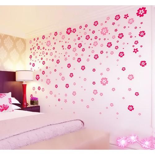 Besta Duvar Sticker Çiçekler