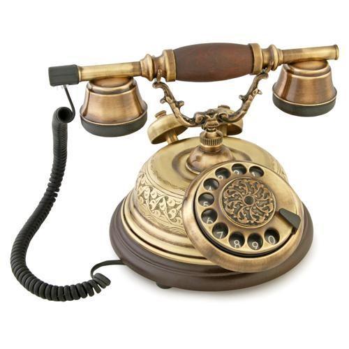 Anna Bell El Dekorlu Kubbeli Telefon