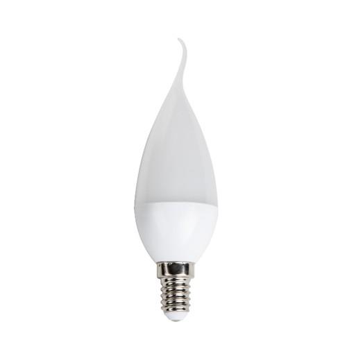 5 Watt Ledli Kıvrık Buji Ampul Gün Işığı